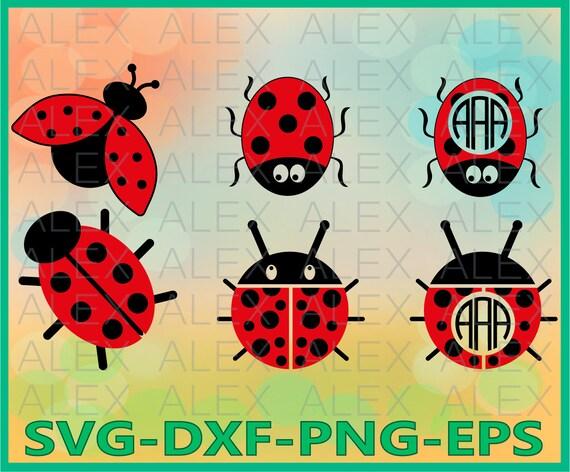 70 Off Ladybug Svg Ladybug Frame Svg File Ladybug Etsy