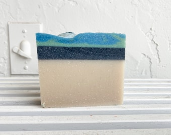 DIRTY MAN soap /6 oz. Manly Masculine Lava Charcoal Bar Soap
