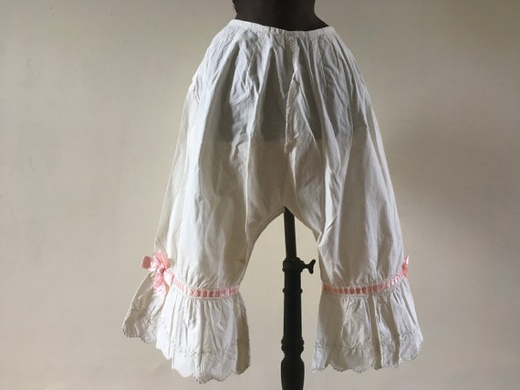 Antique frilly bloomers