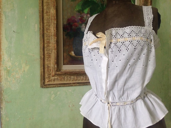 Antique corset cover