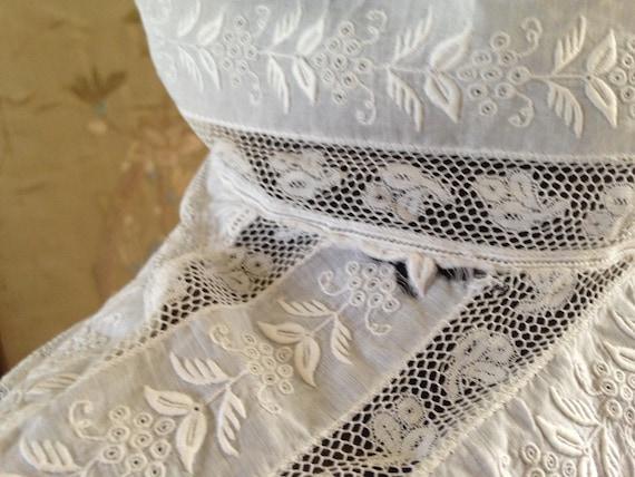 Edwardian white blouse - image 10