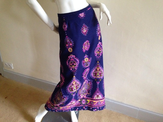 1970's maxi skirt
