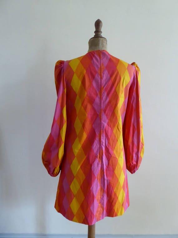 1960's mini dress - image 7