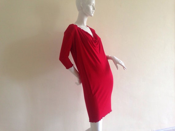 Zandra Rhodes red dress
