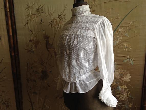 Edwardian white blouse - image 2