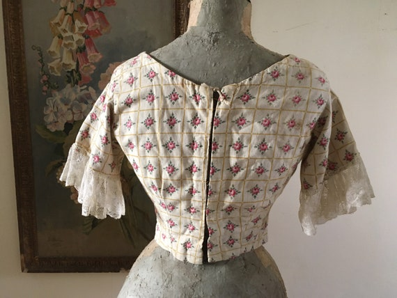 Victorian style corset bodice