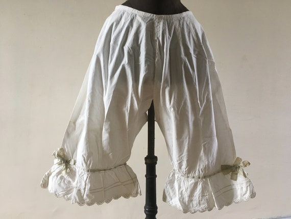 Pair of Victorian bloomers