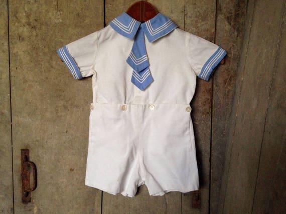 1930's Childs sailor suit