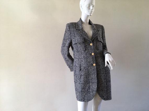 Vintage Chanel tweed jacket by Karl Lagerfeld