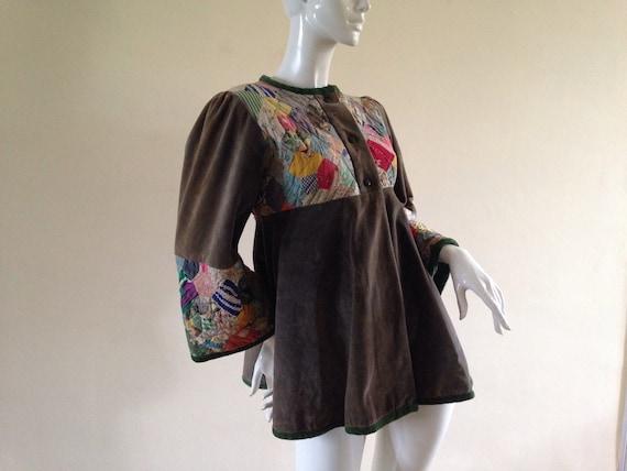 1970's patchwork jacket