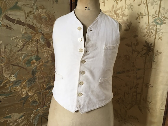 Childs antique waistcoat or vest