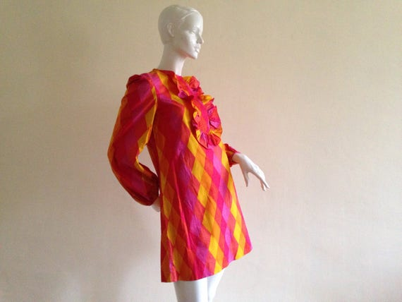 1960's mini dress - image 1
