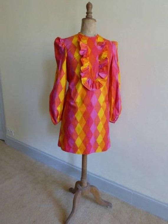 1960's mini dress - image 4