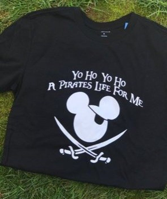 cfc0431de Yo Ho Pirates life for me T shirt Disneyland outfit toddler | Etsy