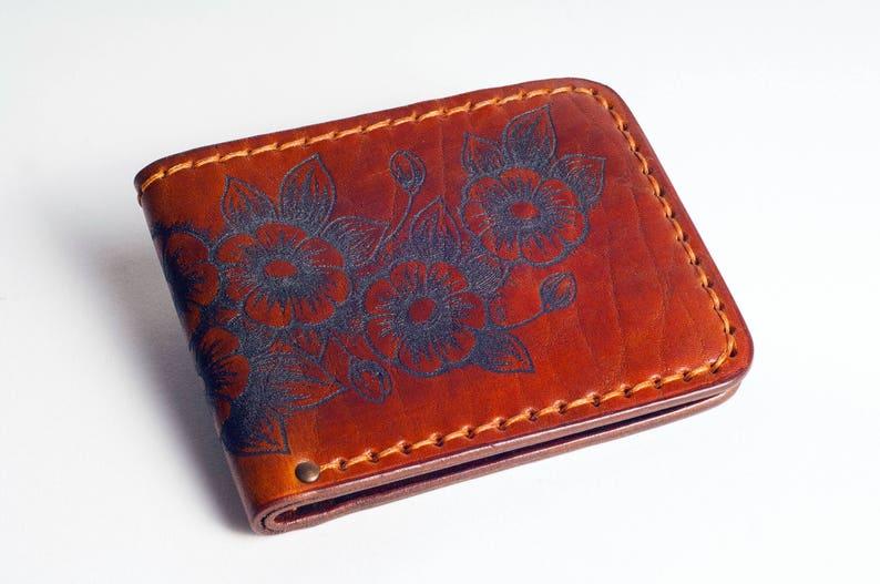 97301731721633 Portefeuille en cuir Slim porte monnaie portefeuille femmes | Etsy