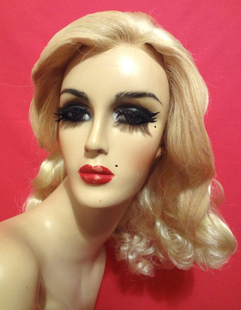 40s VERONICA LAKE Pinup WIG Lace Front Custom Costume  f9e26839f0c8