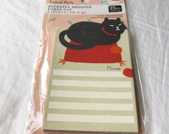 Black Cat Note Pad