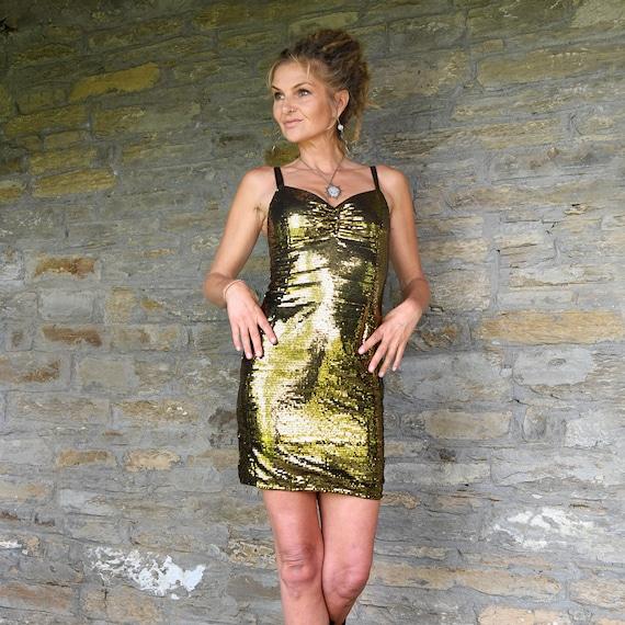 Bandeau paillettes argentées Fame Retro Diva Disco danseuse robe fantaisie