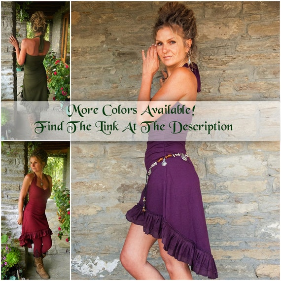 her dress style Goa clothes Festival Plum Steampunk purple for summer wear for Dark Sundress clothing for dress women Funky Boho TpnRqFdO