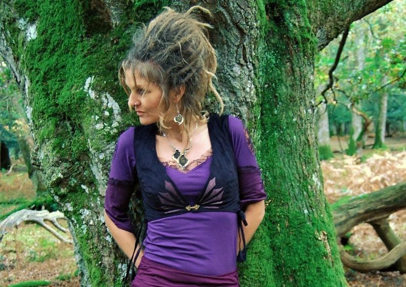 Boho waistcoats Fairy clothes Tribal vests Funky wear image 0