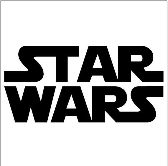 Star Wars Logo Etsy