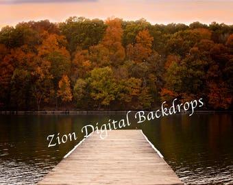 Lake Fall Bakdrop