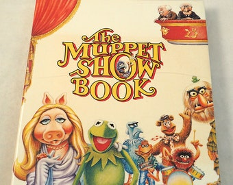 Vintage Muppet Show Book 1978 First Edition HC w/Dust Jacket