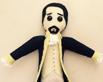 Alexander Hamilton Doll - Pattern Only PDF