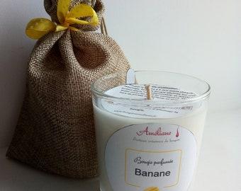 Bougie en pot parfum/ée Banane