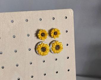 Sunflower Studs