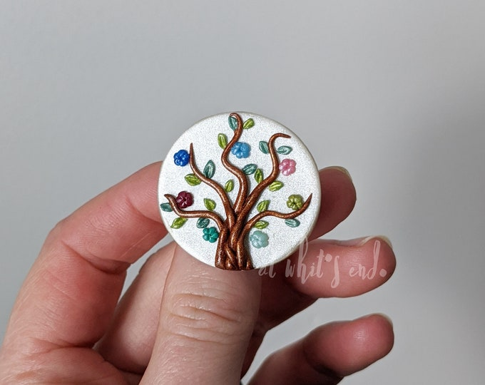 Family Tree Brooch