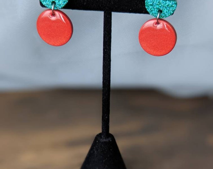 CHERRY Holographic Statement Earrings