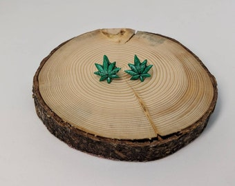 WEED PLANT Studs