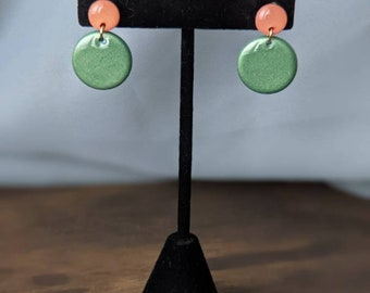 Orange + Green Dangles