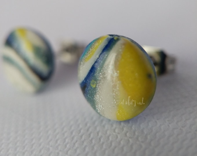 LIMITED Mixed Rounds - Handmade Polymer Clay Studs
