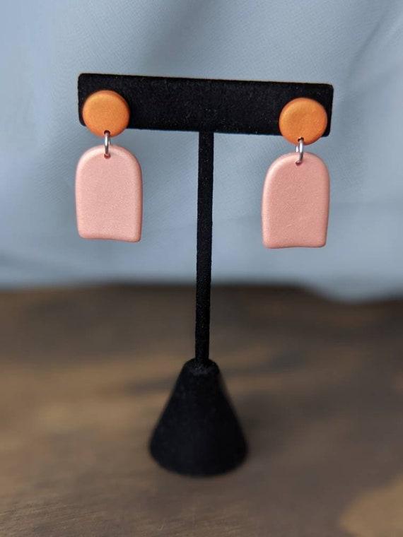 Orange + Pink Dangles