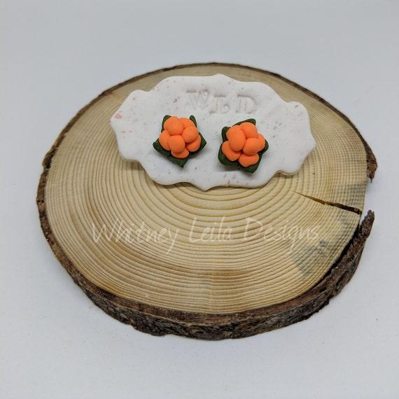 Handmade Newfoundland Bakeapple Earrings