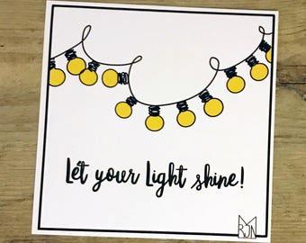 Christian   Let Your Light shine!