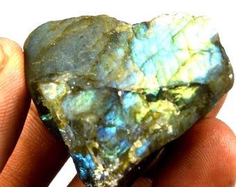 208.75 Ct Natural Uncut Untreated Madagascar Flashy Labradorite Gemstone Rough Christmas Sale
