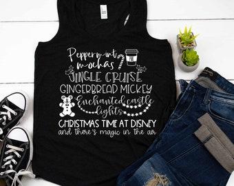 Women's Disney Christmas Shirt, Raglan, Christmas Party, Main Street, Jingle Cruise, Disneyland, Disney World, family, matching, group