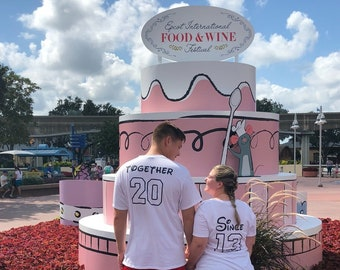 Disney Shirt, Anniversary Shirt, Couples Shirt, Men's Shirt, Mr., Matching Shirts, Together Since, gift idea, Coordinating Shirts