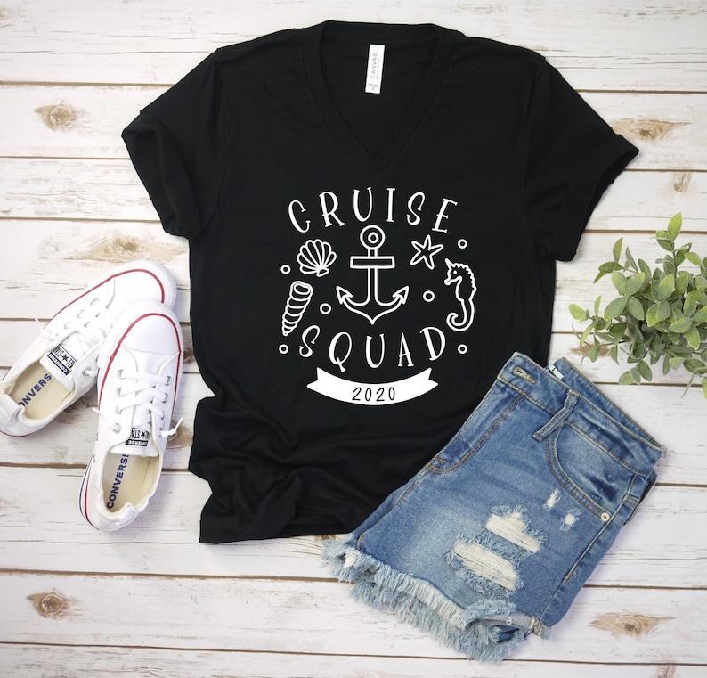 Cruise Shirt Women's Men's Unisex Cruise Squad image 0