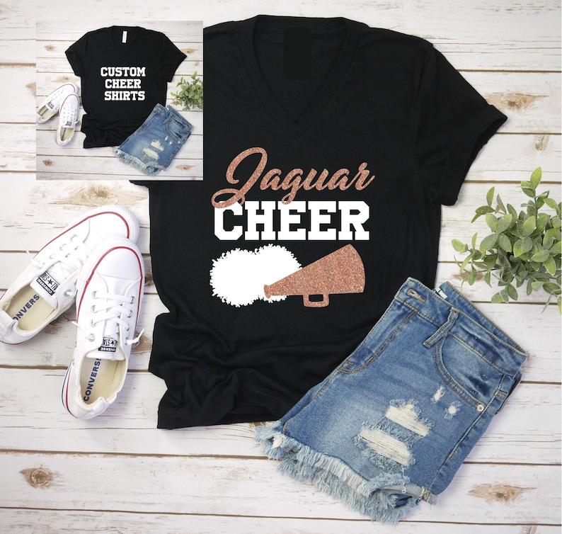 Cheer Shirts Custom Gift Ideas Custom Cheer Shirts Cheer image 0