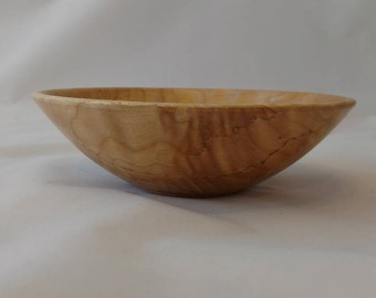 Maple Bowl Spalted and Quilted #150
