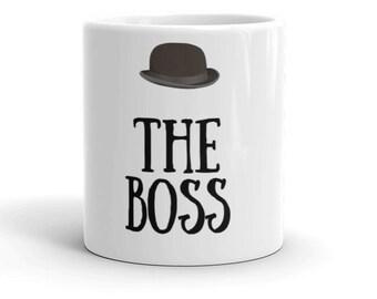 Boss gift Boyfriend gift Husband gift Coffee Mug 2018 trend Boss mug The Boss Mug, The Boss Mug, The Boss Coffee Mug, The Boss Gift