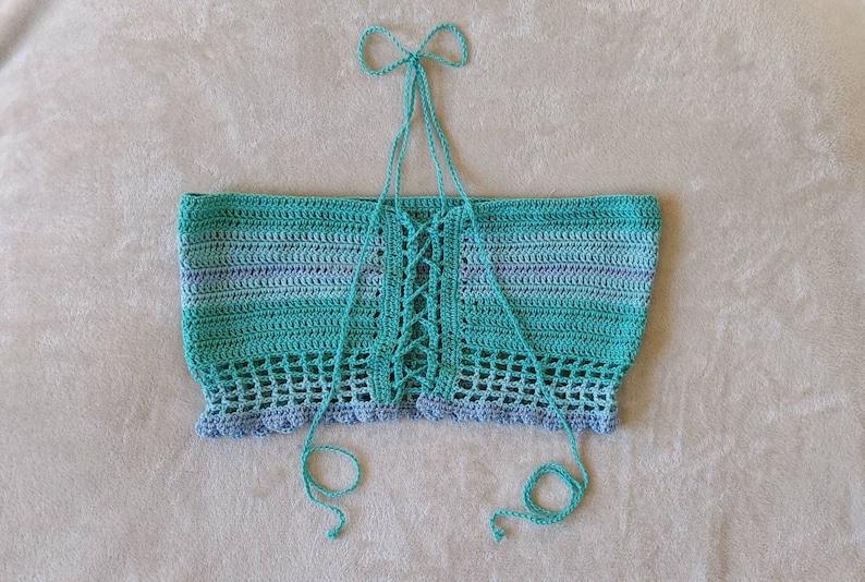 Crochet beach bandeau