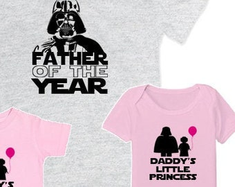 9fecb1d3 Matching Father Daughter Shirts I Am Your Father Shirt Daddys Little  Princess Baby Bodysuit Matching Family Shirts First Fathers Day