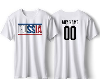 0c0d04b2e56 Russia National Team Pride Customized name and Number World Cup Men
