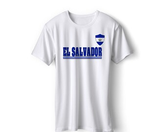 849e5a5a2d2 El Salvador National Team Pride Customized name and Number World Cup Men