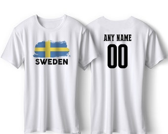 f130ca53b Sweden National Team Pride Customized name and Number World Cup Men